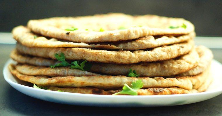 Indický chleba naan