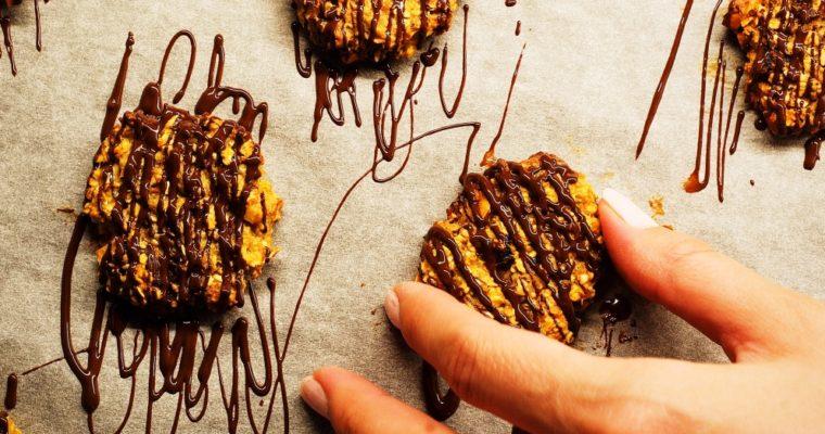 Fit ovesné cookies sbanánem adatlemi