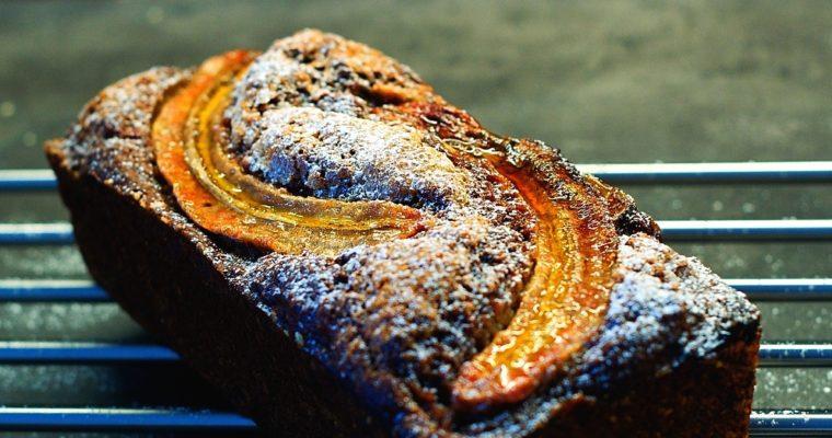 Datlový banánový chleba