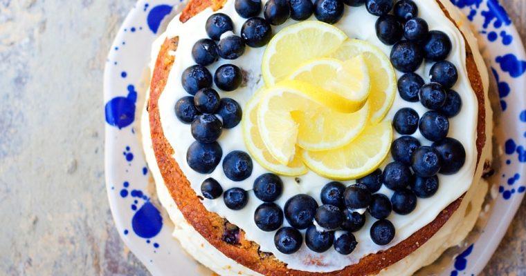 Citronový dort sborůvkami
