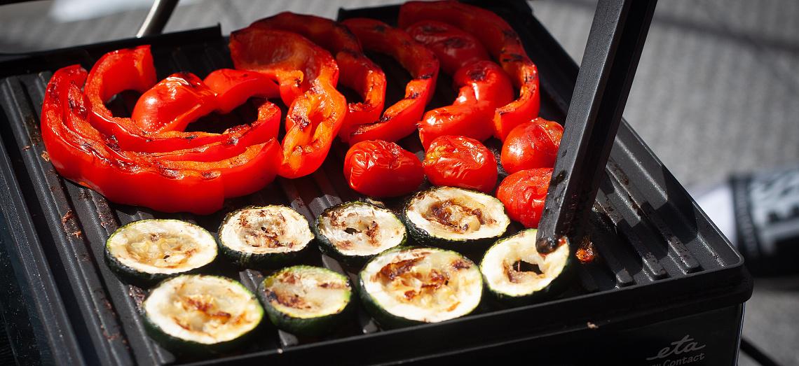 Vynikající grilovaná zelenina